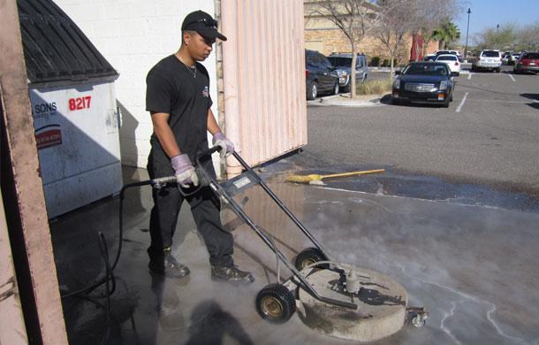 dumpster-pad-cleaning-in-gilbert